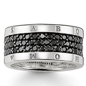 Thomas Sabo Eternity Black Ring